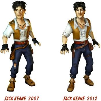 Jack Keane Vergleich
