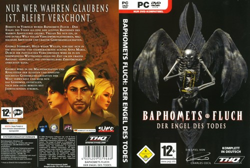 Baphomets Fluch 4 - Cover