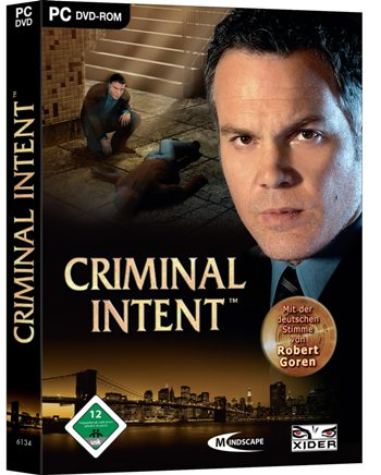Criminal Intent - Cover