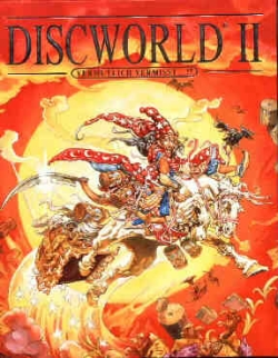 Discworld 2 - Cover