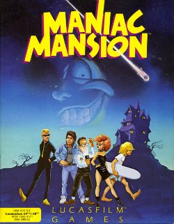 Maniac Mansion - Cover