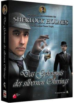 Sherlock Holmes - Ohrring - Cover