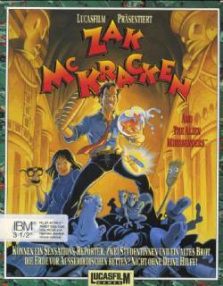 Zak McKracken - Cover